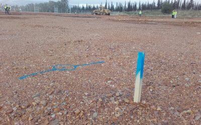 Primeros replanteos Planta Biomasa